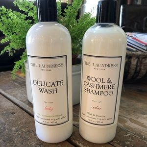 The Laundress products. Full size. Brand new.